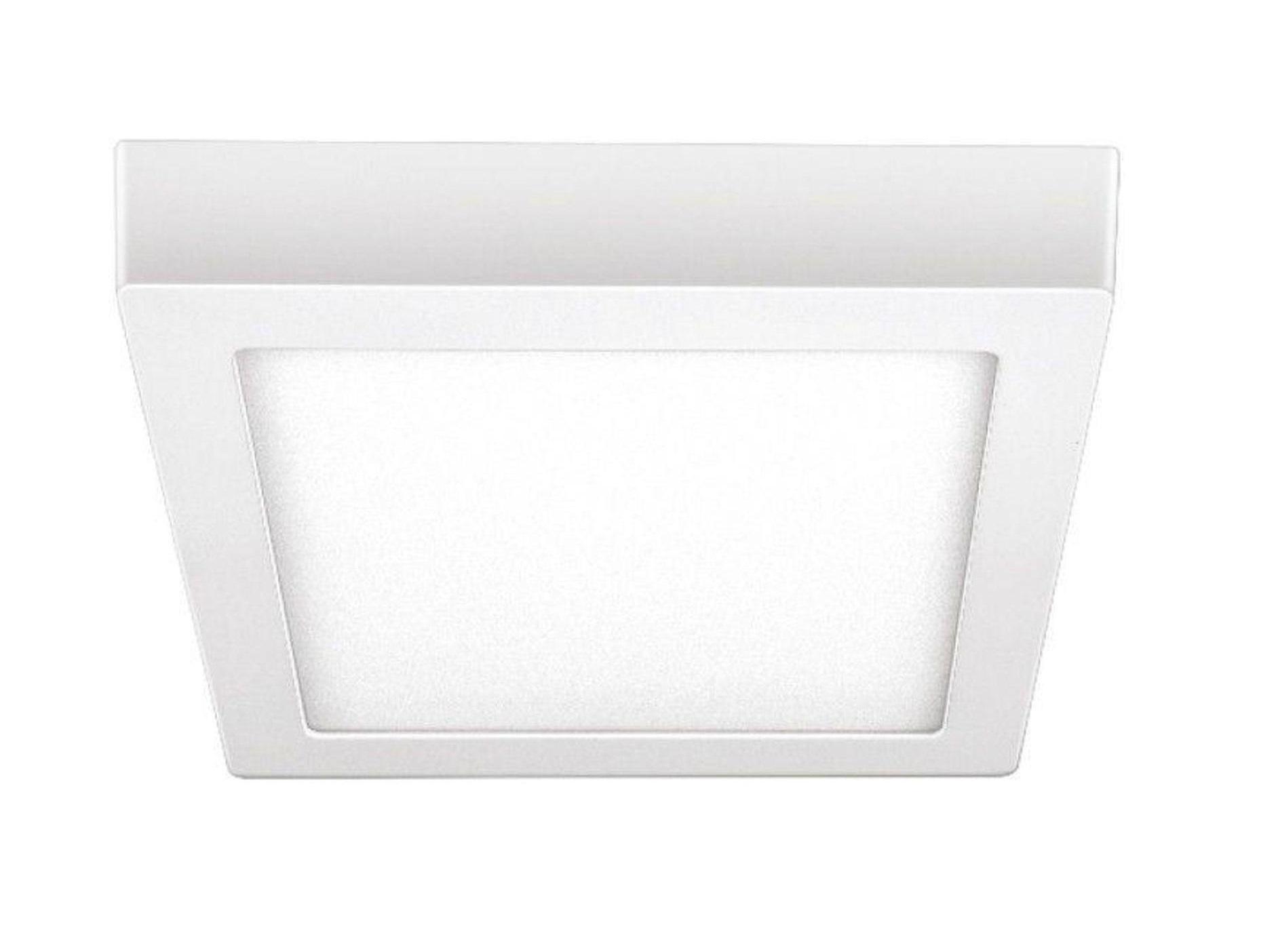 Luminária painel Led de sobrepor quadrado 18W 6500K Fria bivolt Elgin  - Mix Eletro