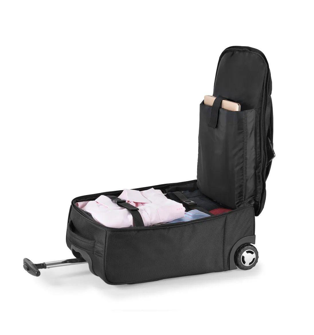 "Mala de Bordo Trolley com 2 Rodas Compartimento Notebook até 19"" Multilaser BO416  - Mix Eletro"