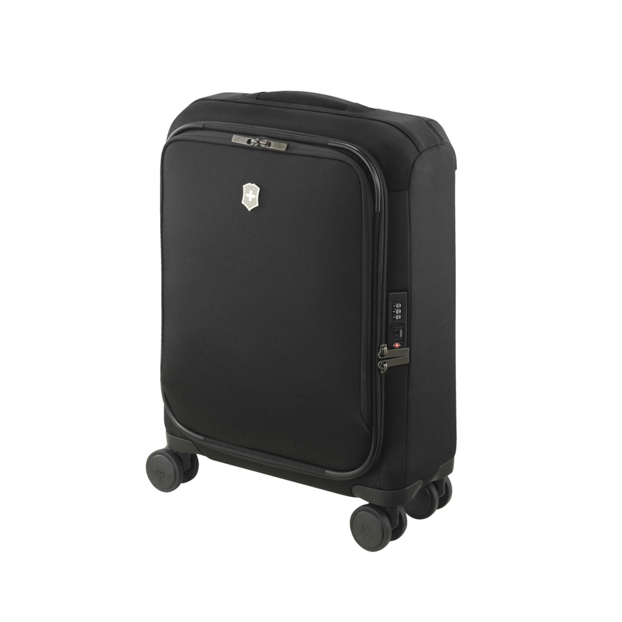 Mala de Viagem Connex Global Softside Carry-On Preta 28L Victorinox  - Mix Eletro