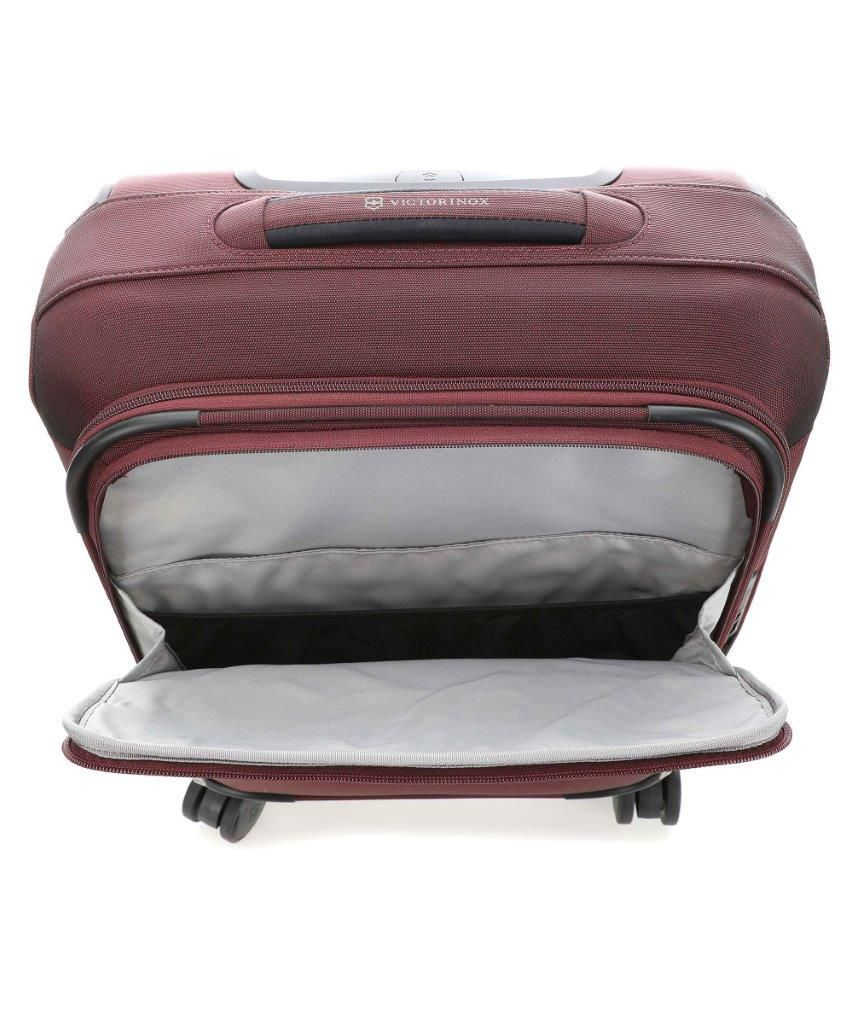 Mala de Viagem Connex Global Softside Carry-On Vinho 28L Victorinox  - Mix Eletro