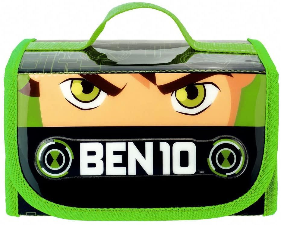 Maleta de pintura BEN10 com 4 divisórias e 32 acessórios Multikids   - Mix Eletro