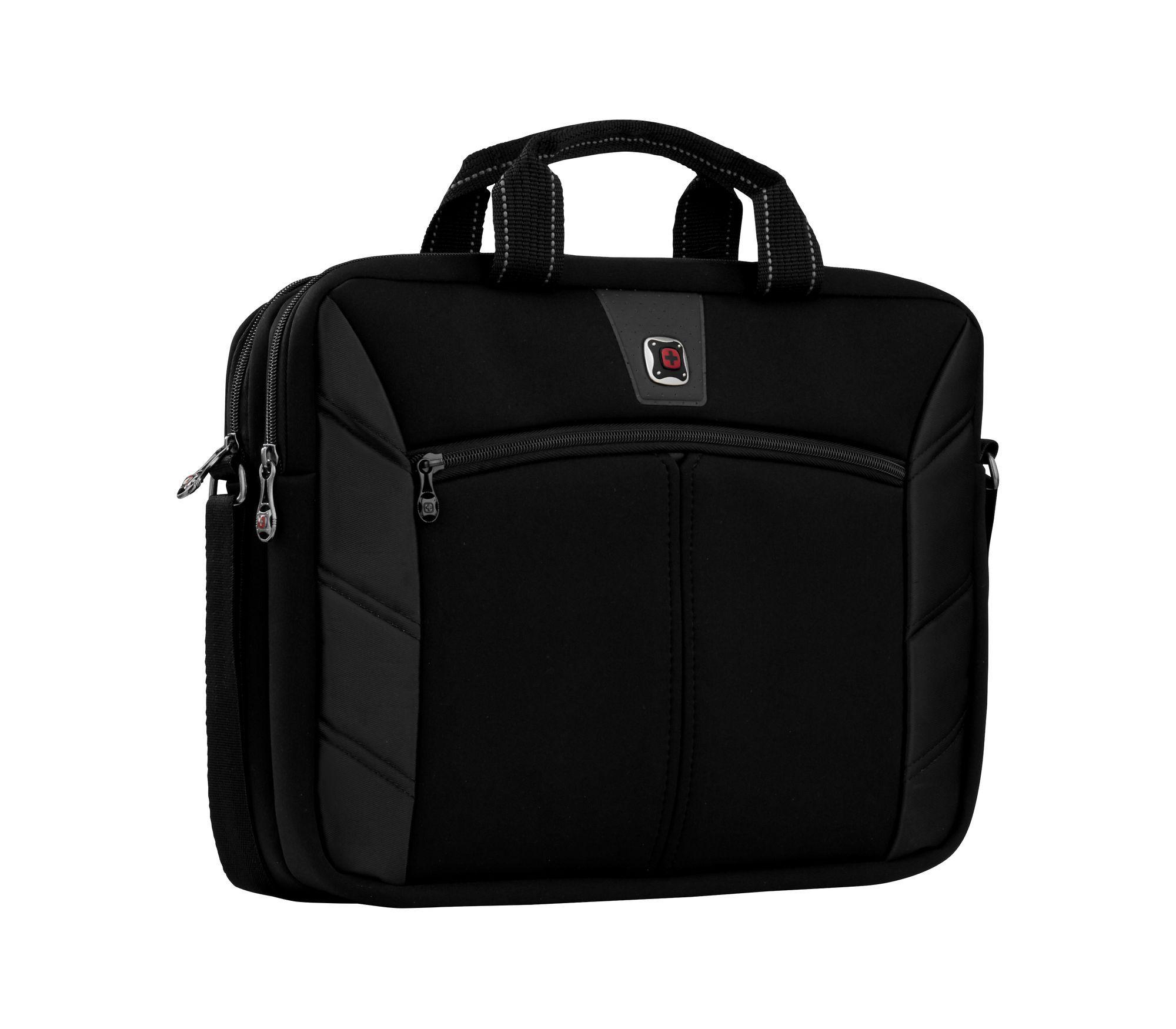 """Maleta executiva para Notebook 16"""" 2 compartimentos Sherpa Wenger 600653  - Mix Eletro"""