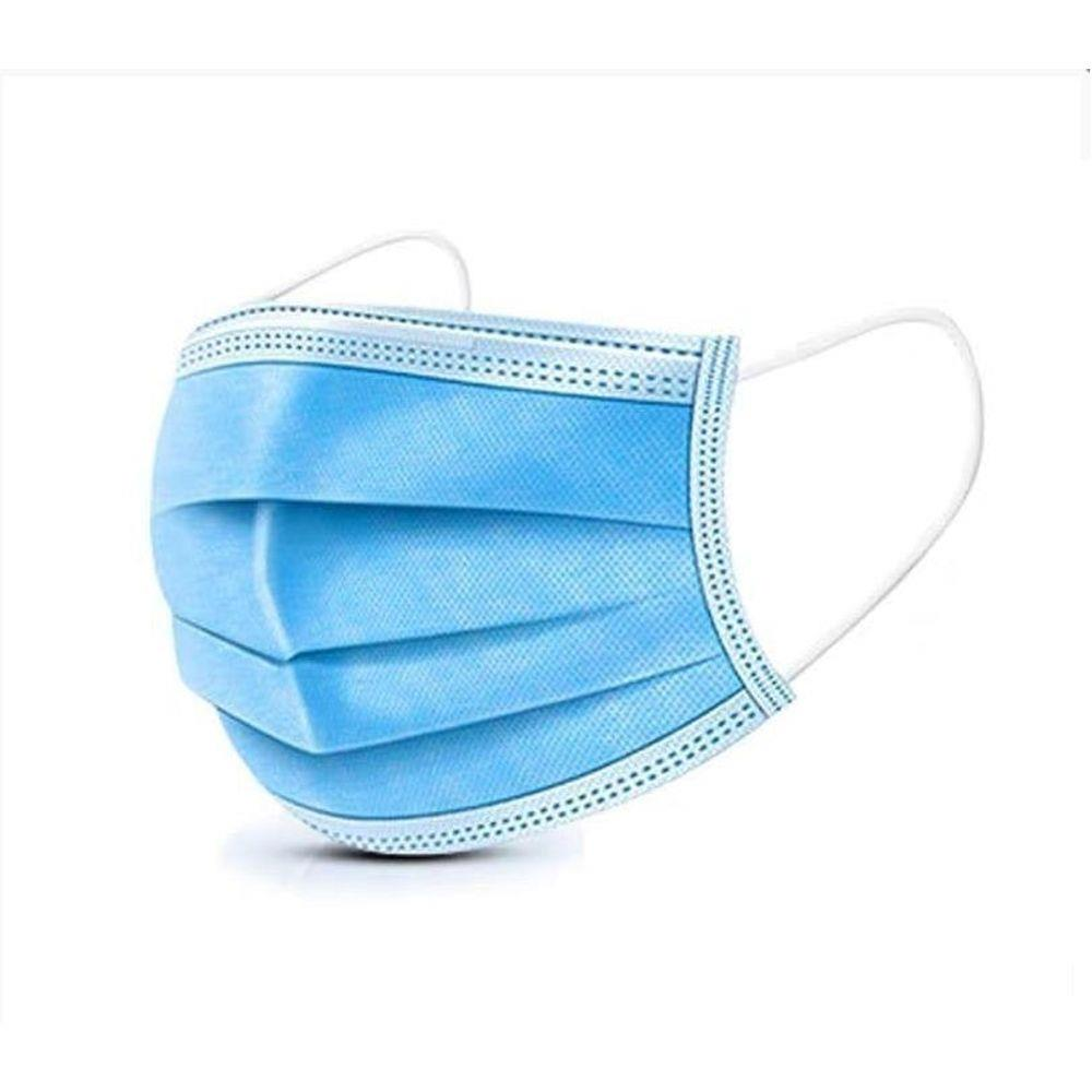Mascara de Proteção Esterilizada Descartável Tripla Camada Clip Elástico 20 unid  - Mix Eletro