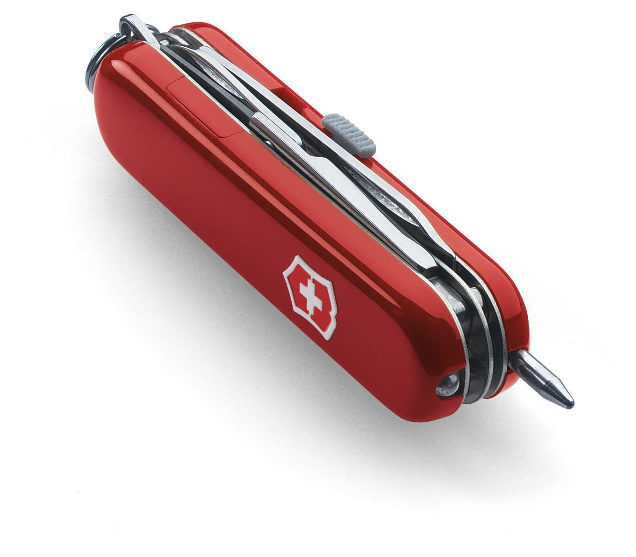 Mini Canivete Suíço Midnite Manager Victorinox com caneta e lanterna 10 funções Original 0.6366  - Mix Eletro