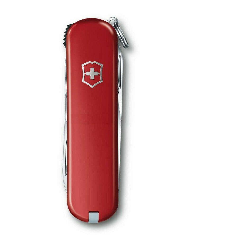 Mini Canivete Suíço NailClip Vermelho 65mm 8 funções Original 0.6463  - Mix Eletro
