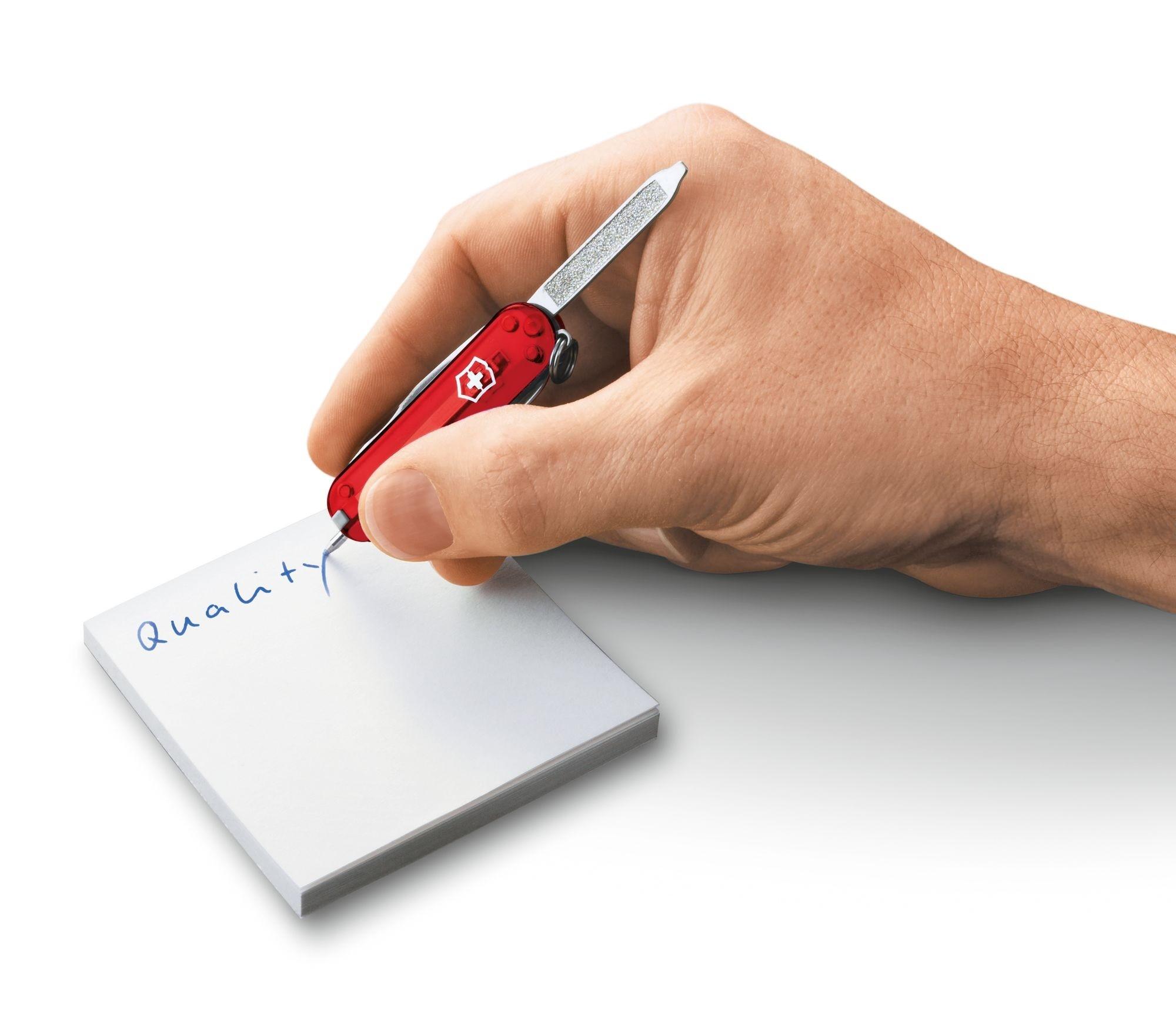 Mini Canivete Suíço Signature Victorinox com caneta 8 funções 0.6225.T  - Mix Eletro