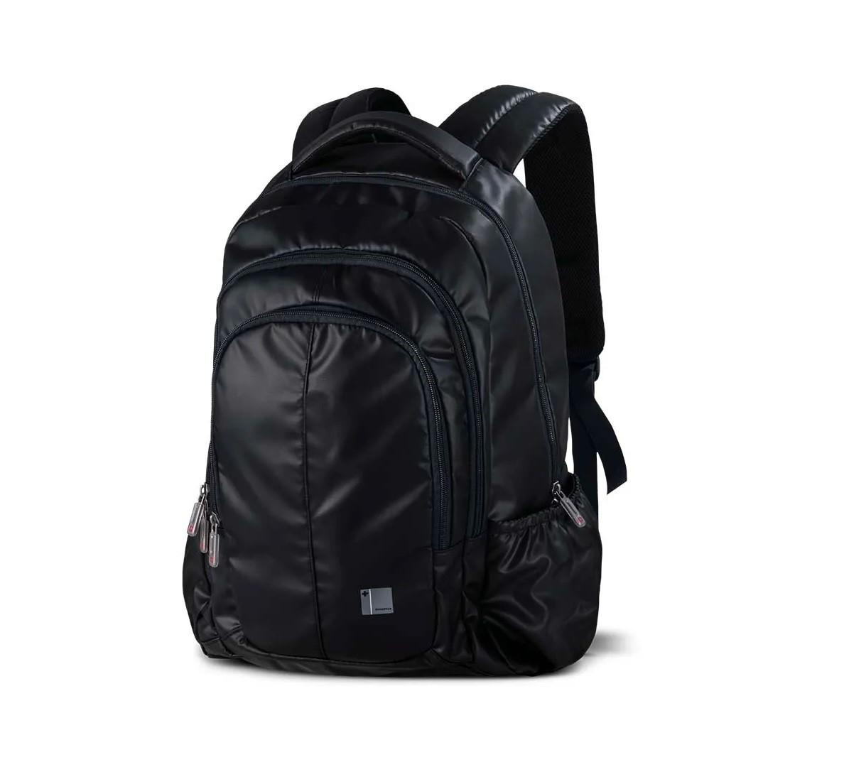 """Mochila para Notebook 15,6"""" linha Swisspack Trip Preta Multilaser BO411  - Mix Eletro"""