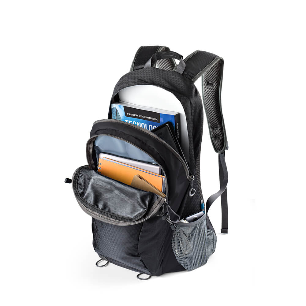 "Mochila Sport fit Notebook de até 15.6"" -52cm Preta Multilaser - BO401  - Mix Eletro"