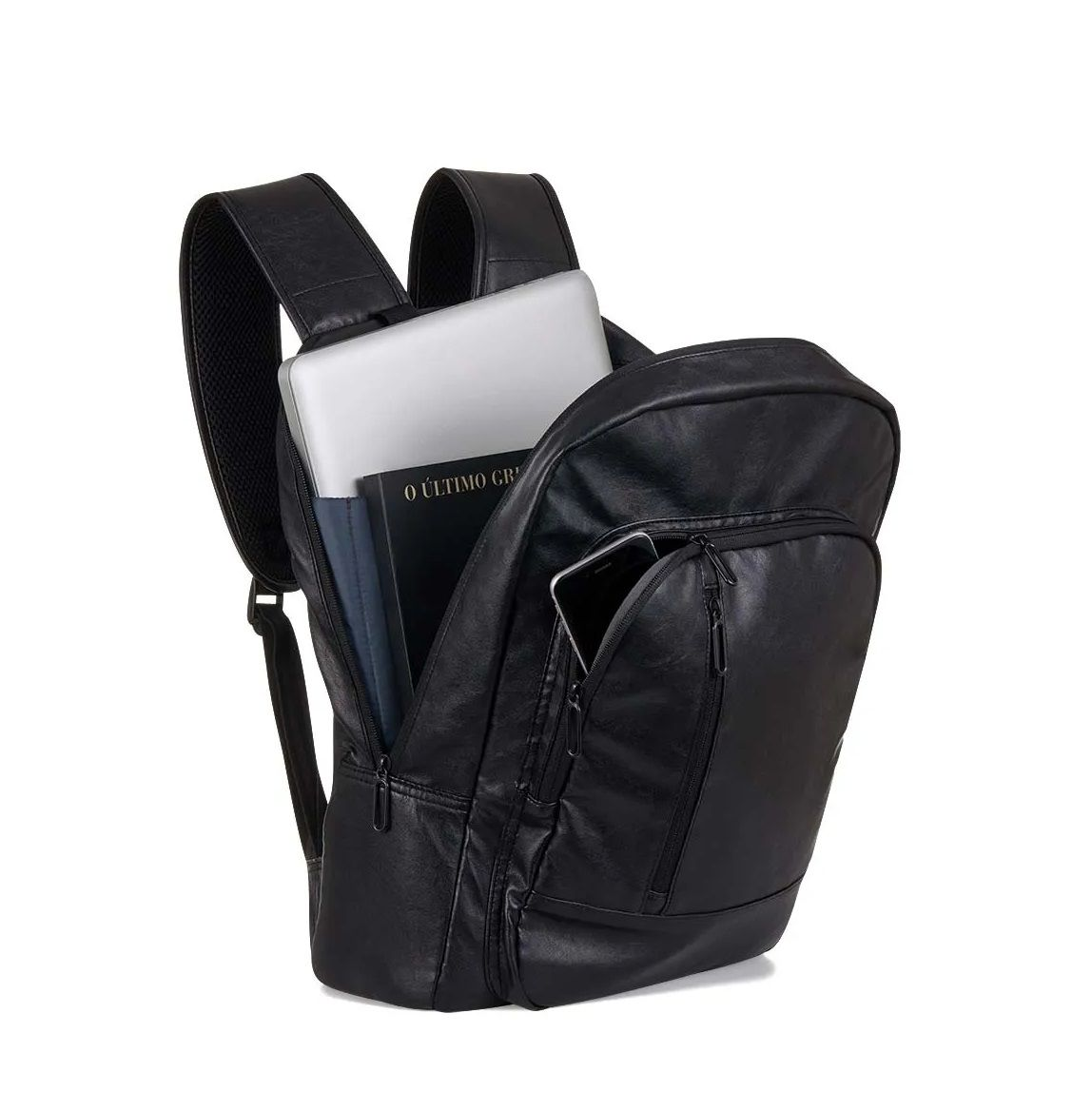 "Mochila Swisspack Street Preta Notebook 15.6"" Multilaser BO419  - Mix Eletro"