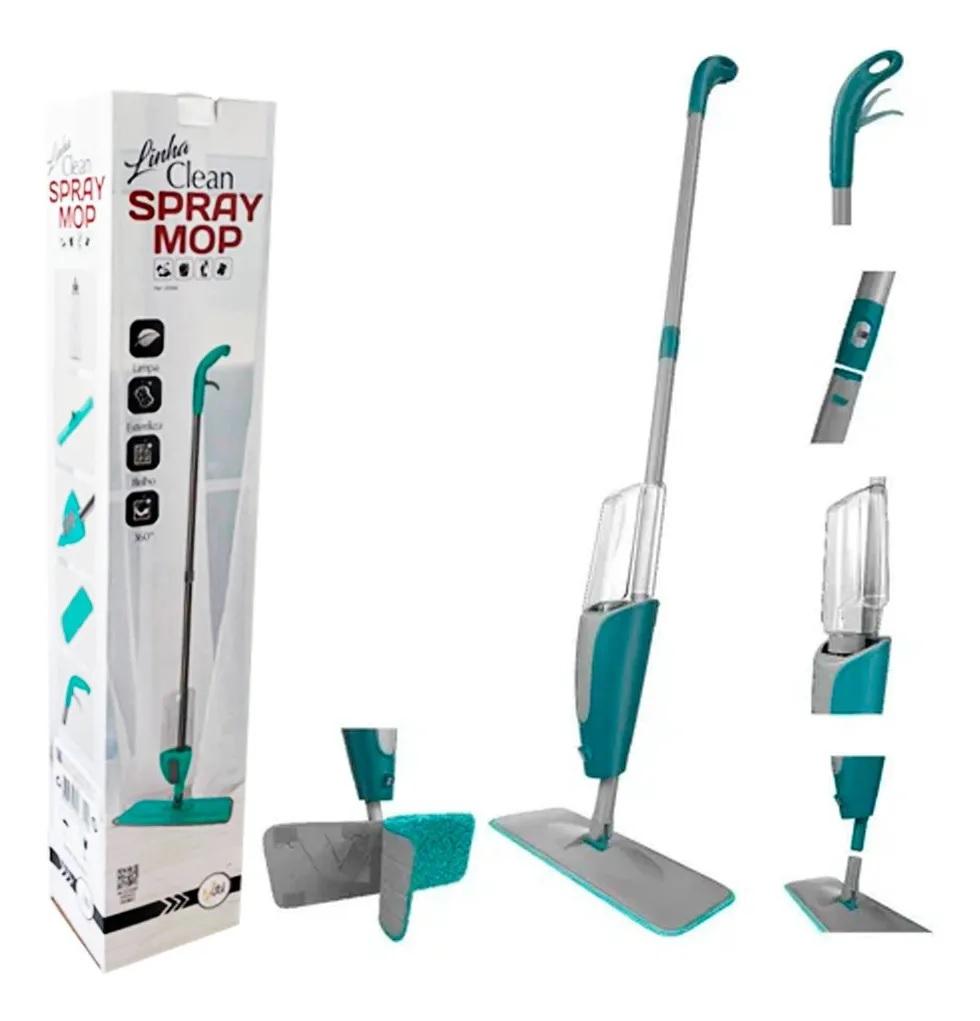 Mop Spray com reservatório aplicador refil microfibra UD344  - Mix Eletro