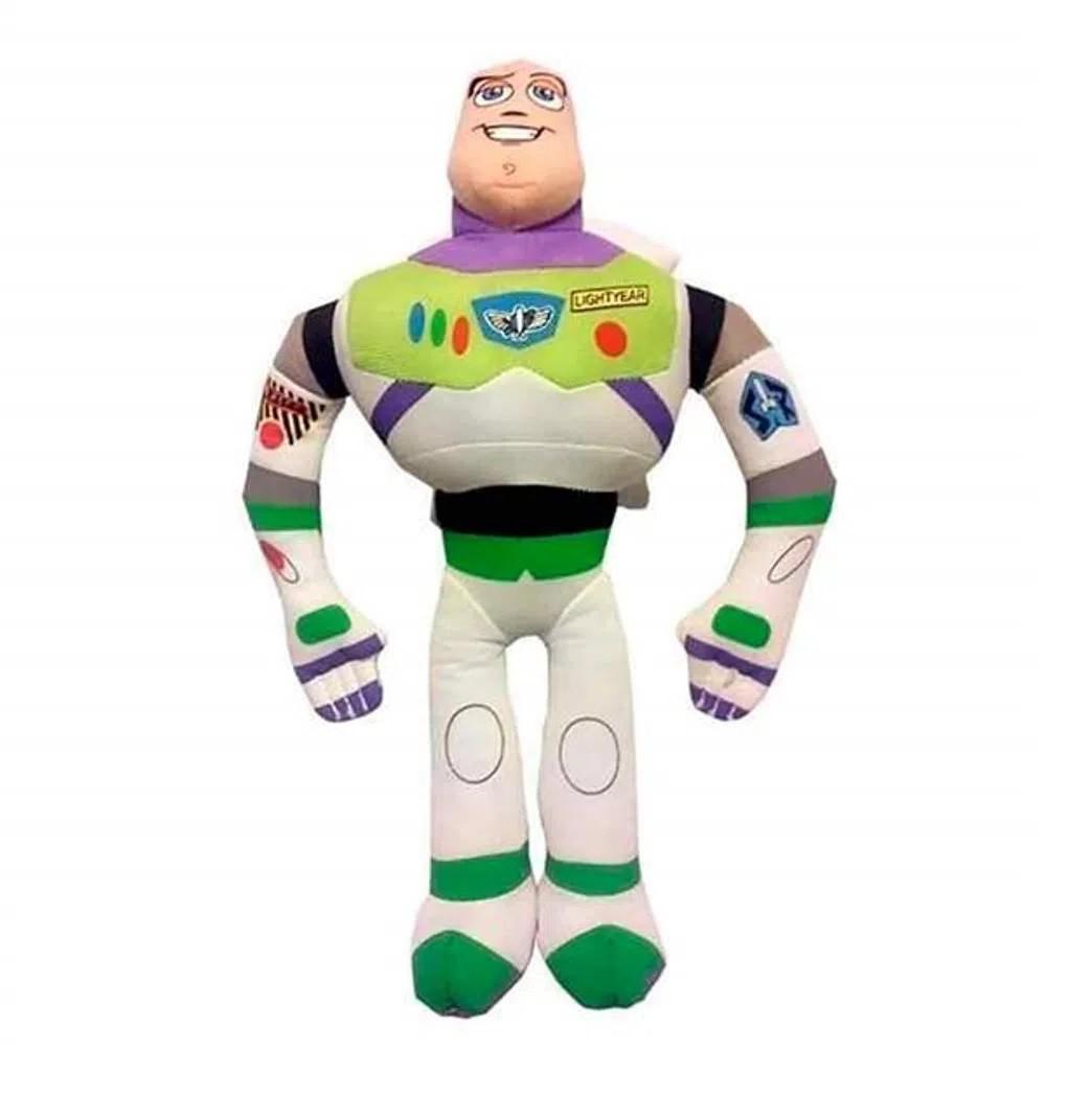 Pelúcia Buzz Lightyear Toy Story 30cm com Multikids BR388  - Mix Eletro