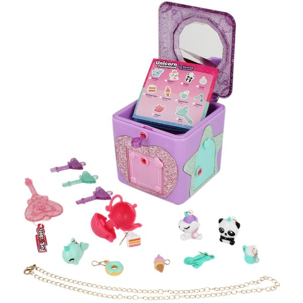 Porta joias Surpresa Fun Lockets 18 surpresas colecionáveis Multikids  - Mix Eletro