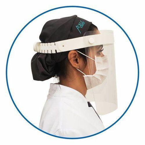 Protetor Facial Face Shield Viseira cinta de EVA Branca Grintoy  - Mix Eletro