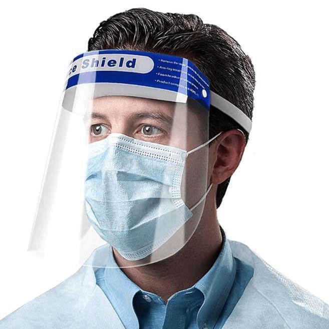 Protetor Facial Face Shield Viseira de proteção Multilaser HC224 - 10 unidades  - Mix Eletro