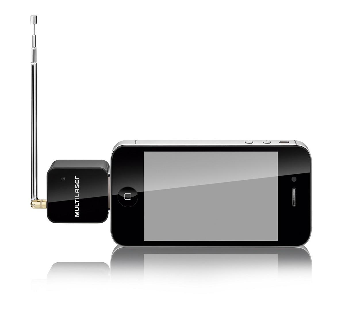 Receptor De Tv Digital P/ Iphone Ipod ipad Multilaser Tv006  - Mix Eletro