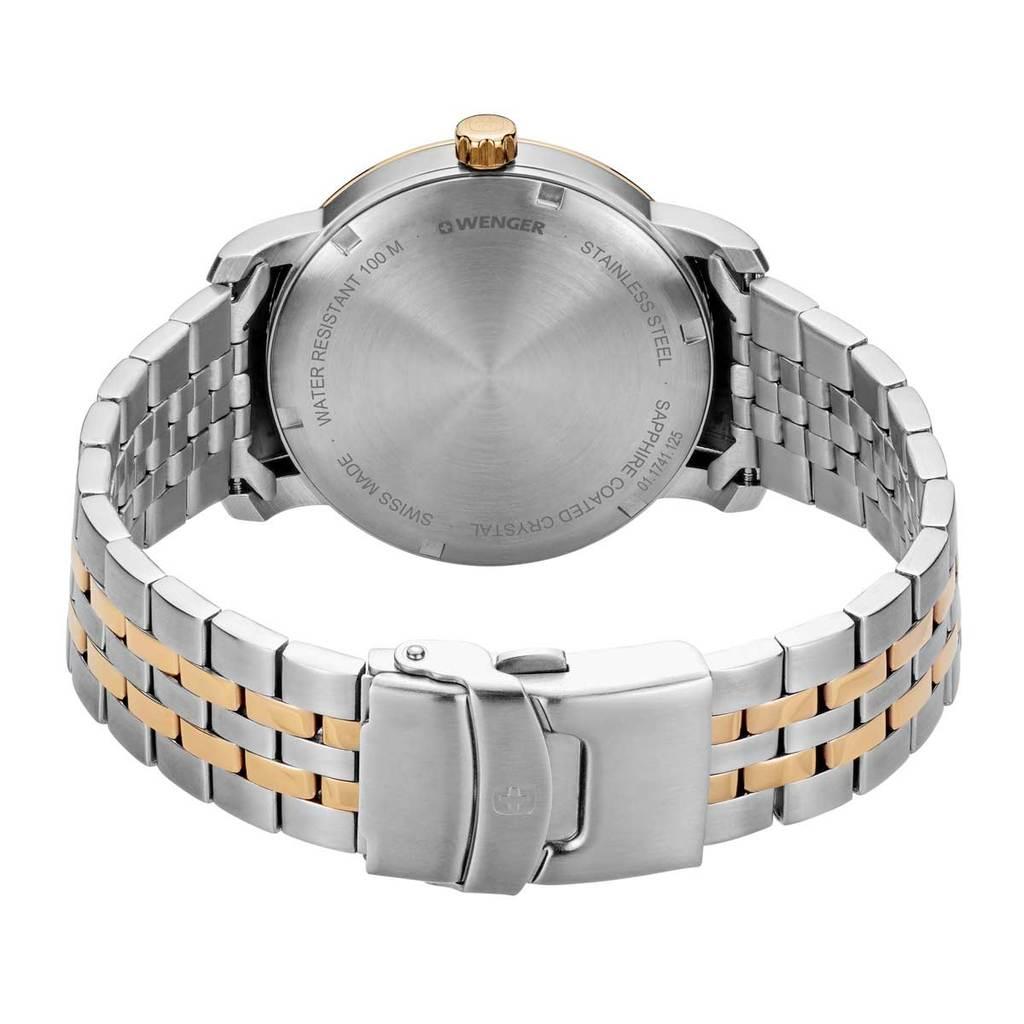 Relógio de Pulso social suíço Wenger Urban Classic 42mm 01.1741.125  - Mix Eletro