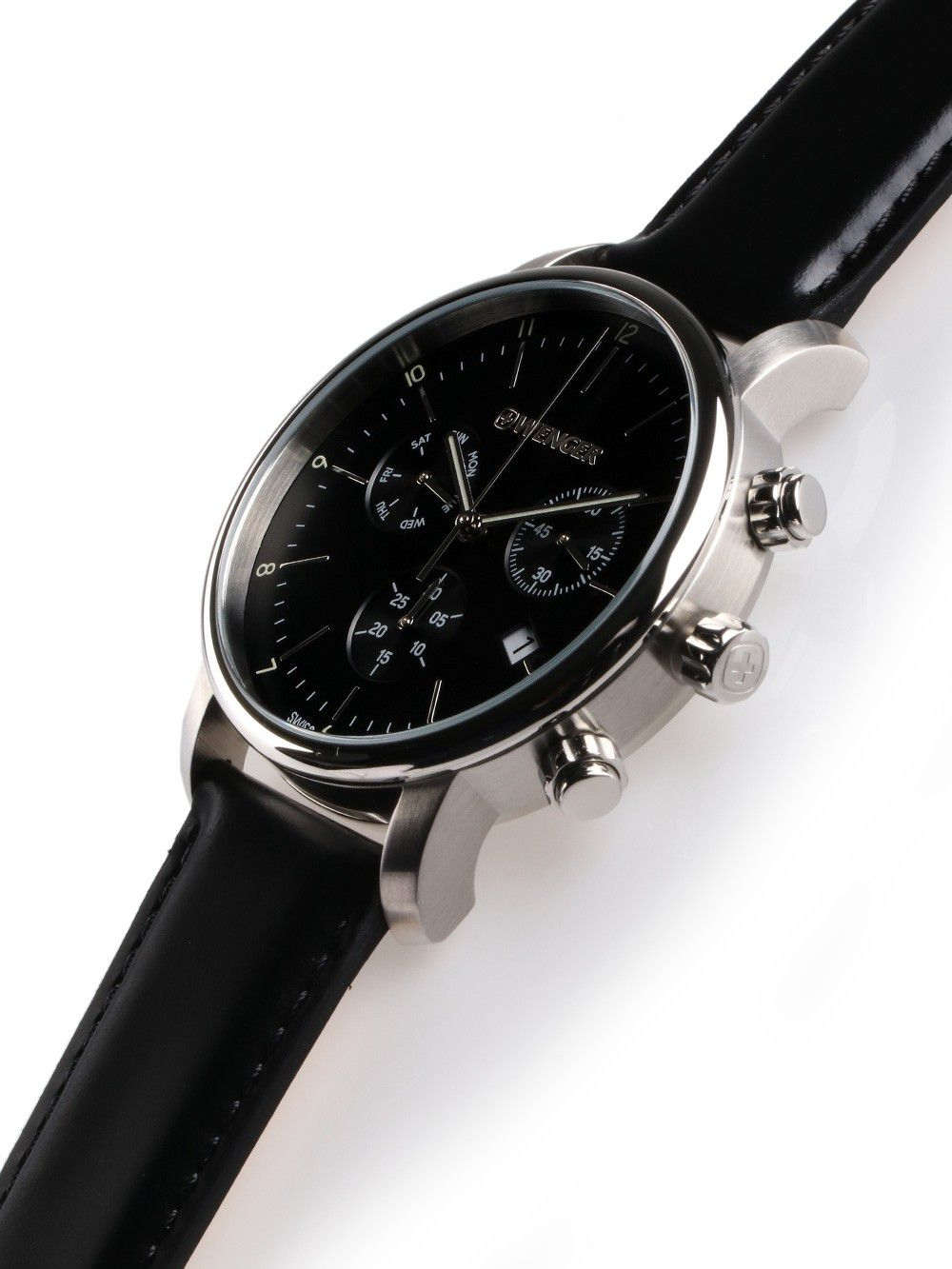 Relógio de Pulso social suíço Wenger Urban Classic Chrono 44mm 01.1743.102  - Mix Eletro