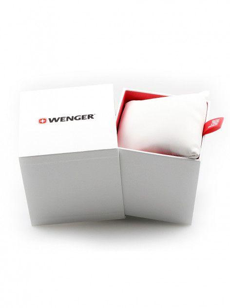 Relógio feminino suíço Wenger linha Avenue Lady aço inox 34mm 01.1621.104  - Mix Eletro