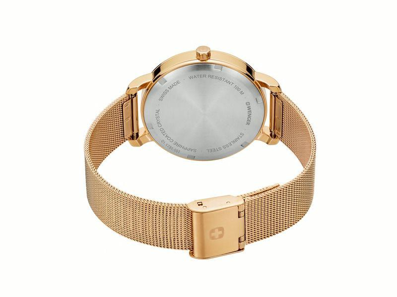 Relógio feminino Suíco Wenger Metropolitan Donnissima 01.1731.107  - Mix Eletro