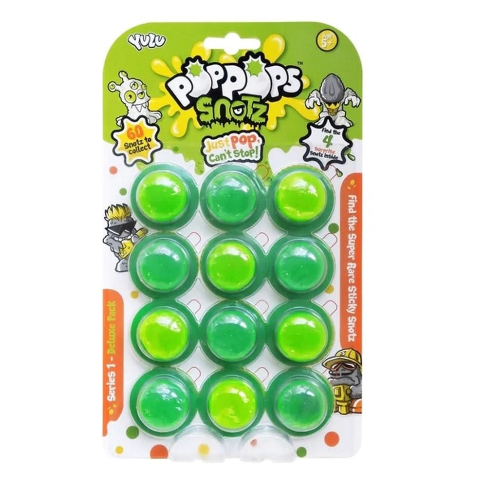 Slime  PopPops Pets 12 Cápsulas C/ 4 Pets Colecionáveis Multikids BR999  - Mix Eletro