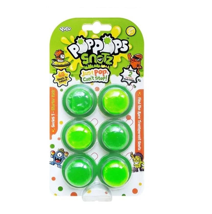 Slime  PopPops Pets 6 Cápsulas C/ 2 Pets Colecionáveis Multikids BR998  - Mix Eletro