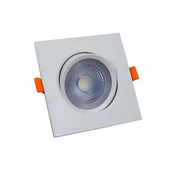 Spot Led MR16 Embutir Quadrado 5w 6500K Direcionável Bivolt Elgin Kit 5pçs  - Mix Eletro