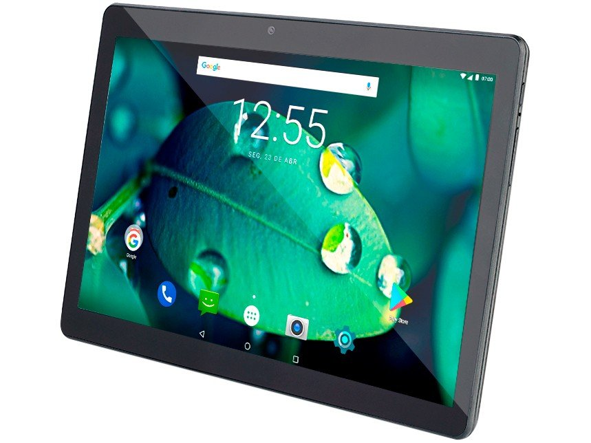"Tablet MLX3-M10 4G 10""  Quad-core 16GB 2GB RAM Bluetooth Wi-fi  4G NB336 Multilaser  - Mix Eletro"