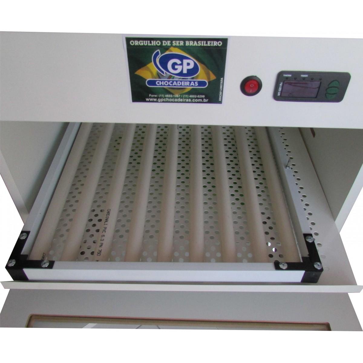 Chocadeira Automática 100 ovos com roletes GPR 100