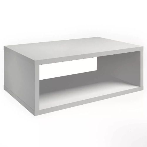 Nicho Retangular Decorativo 60 L X 20 A X 25cm P Mdf Branco