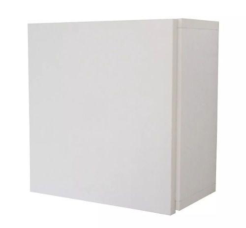 Armário Nicho Toalheiro Decorativo Mdf 30x30x15cm Porta