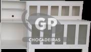KIT 1 EXPOSITOR DE RAÇÃO RETANGULAR E 1 BALCAO BALANÇA
