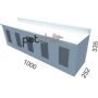 Expositor De Sementes 5 Compartimentos Mdp