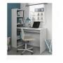 Mesa Escrivaninha Home Office Com Estante 4 Prateleiras Mdp