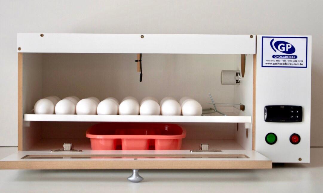 Chocadeira 50 Ovos  elétrica e automática com ovoscópio