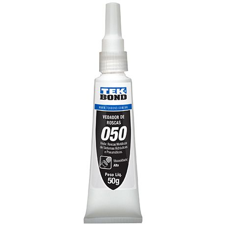 Adesivo Veda Roscas Branco 050 50g - Tekbond