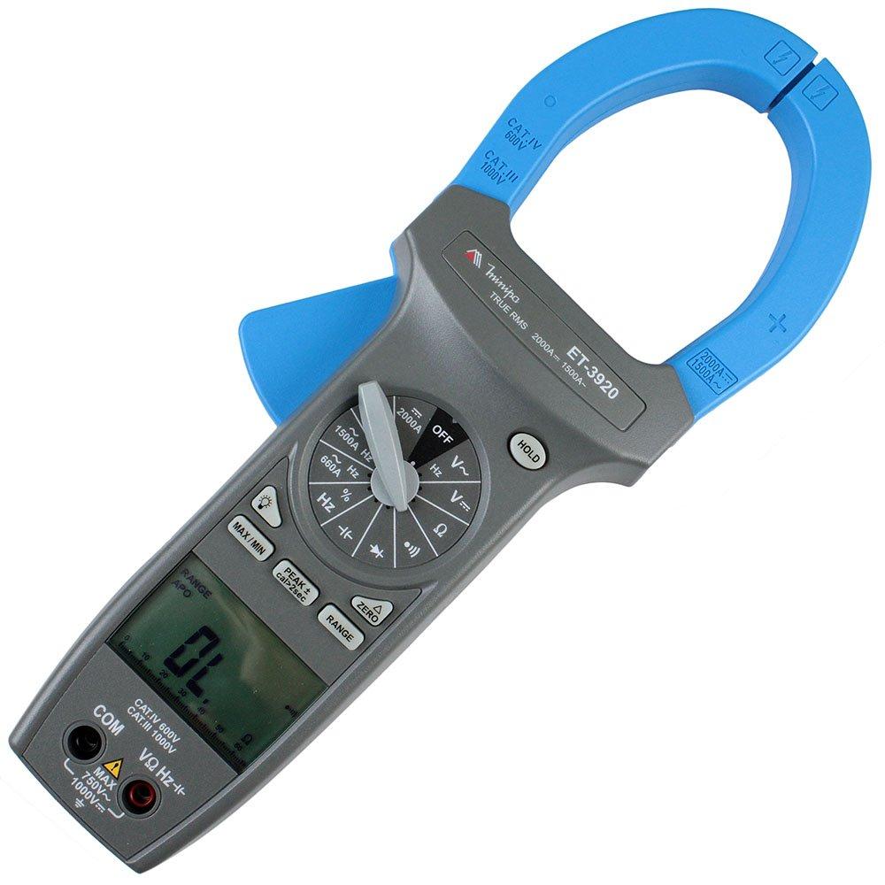 Alicate Amperímetro 1500A ET-3920 - Minipa