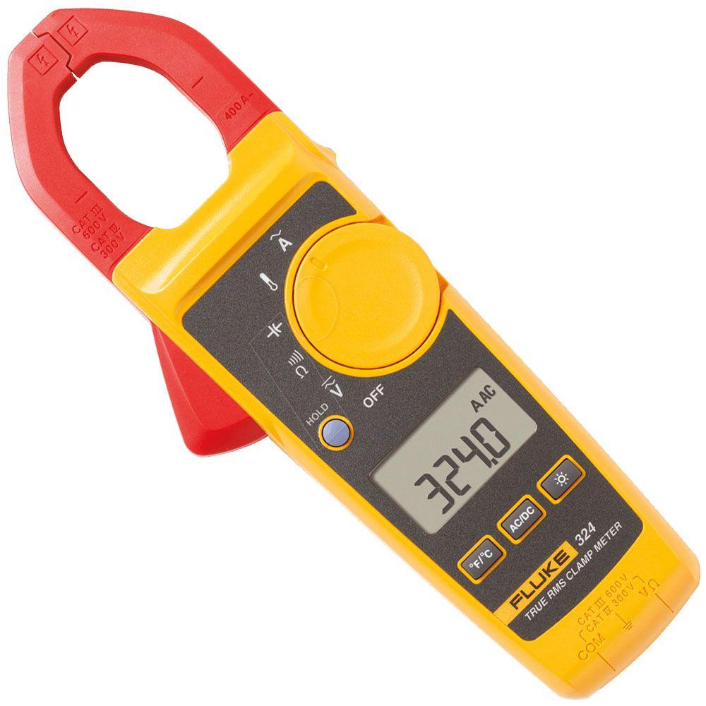 Alicate Amperímetro 400 Amp. True-rms 324 - FLUKE