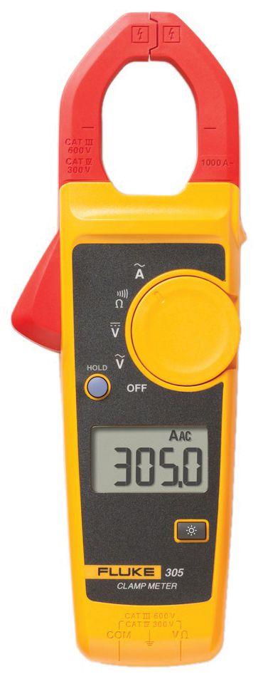 Alicate Amperímetro 600V 305 - FLUKE
