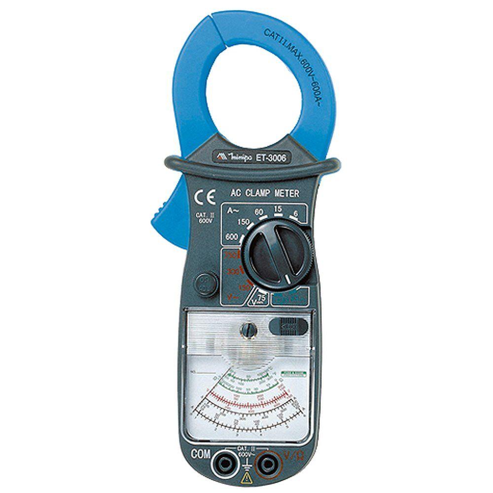 Alicate Amperímetro Analógico 600A ET-3006 - MINIPA