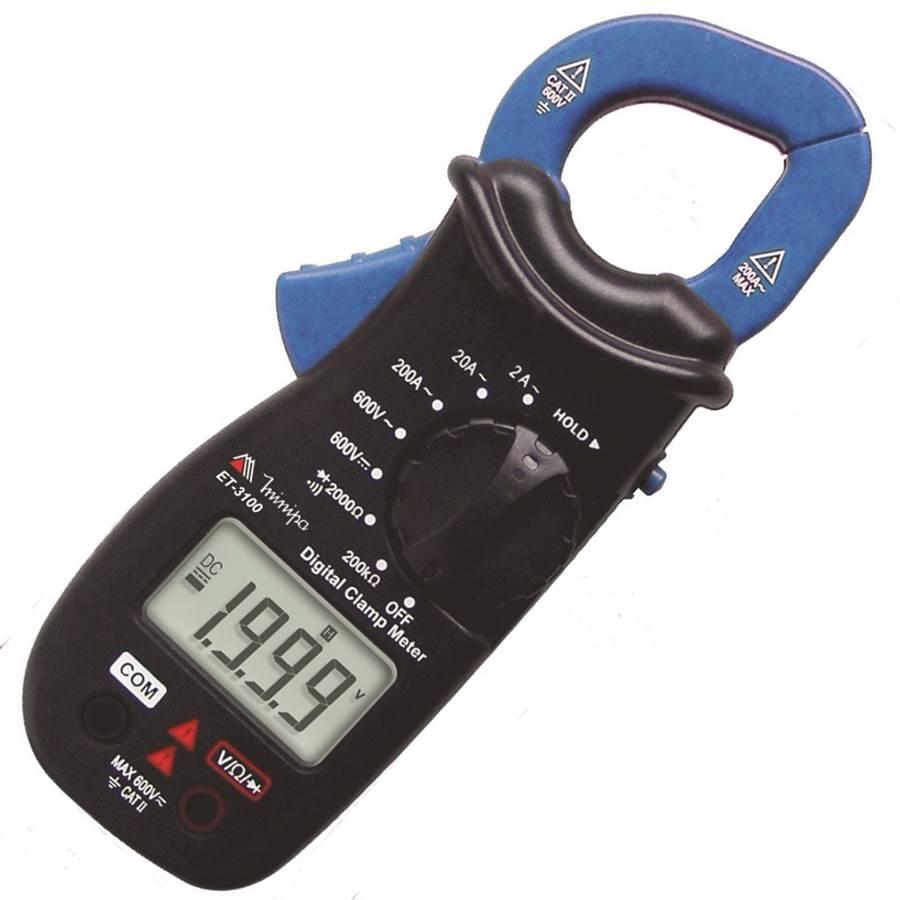Alicate Amperímetro Digital CAT II 600V ET 3100 - MINIPA