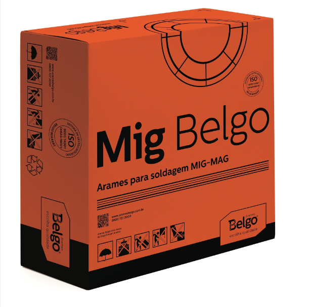 Arame MIG 0,8MM (capa-capa) 15kg Belgo