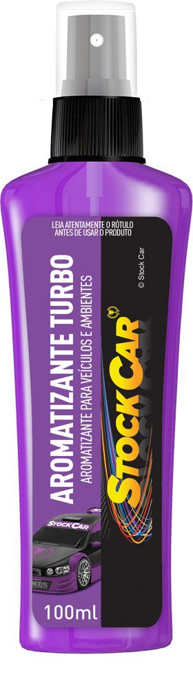 Aromatizante Spray Turbo 100ml - STOCKCAR