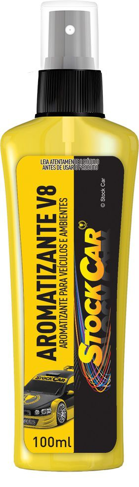 Aromatizante Spray V8 100ml - STOCKCAR