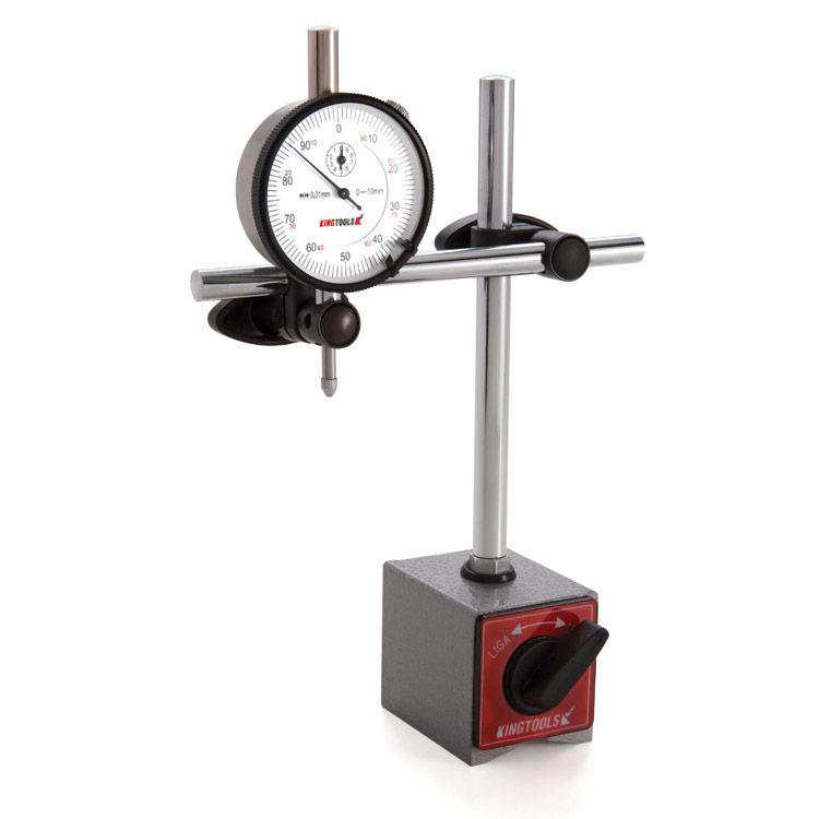 Base Magnética Braço Articulado S/Ajuste Fino 506.600 - KINGTOOLS