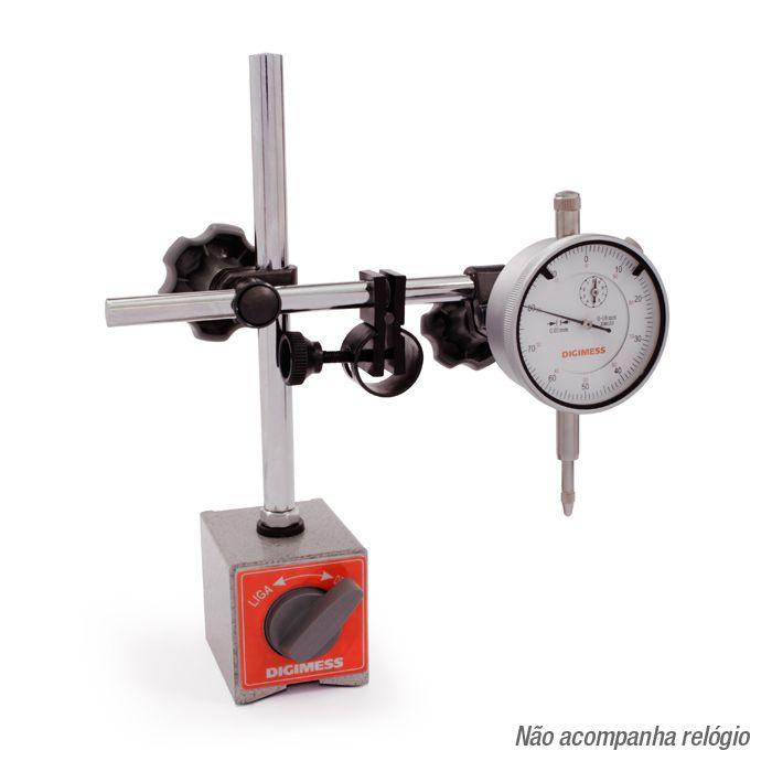 Base Magnética Com Ajuste Fino 270.240 (Cx Papel) DIGIMESS