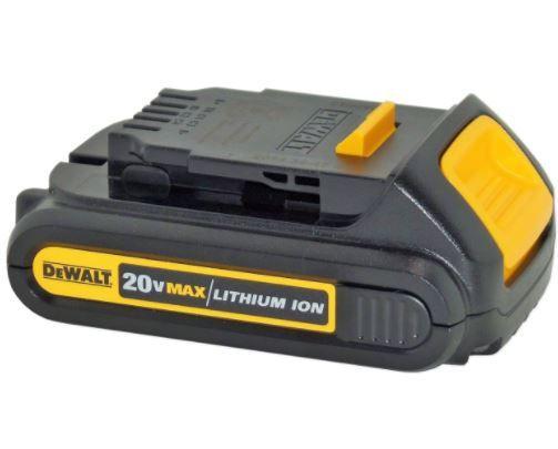 Bateria 20V Max Compact 1.3AH DCB207-B3 - DEWALT