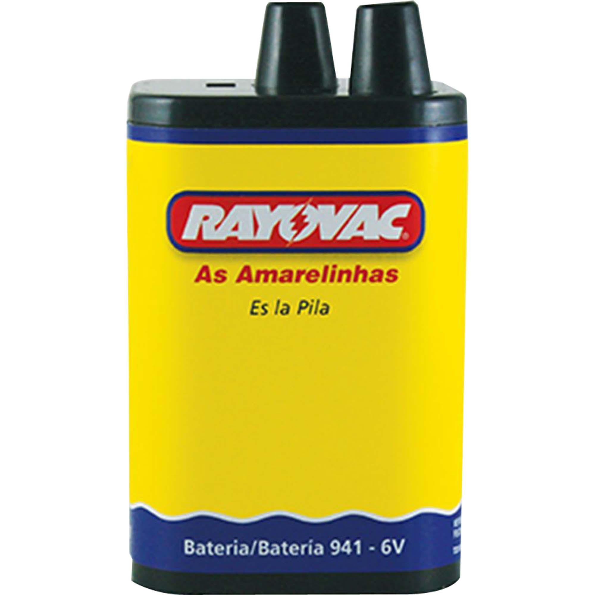 Bateria P/ Lanterna 941 6 Volts - Rayovac