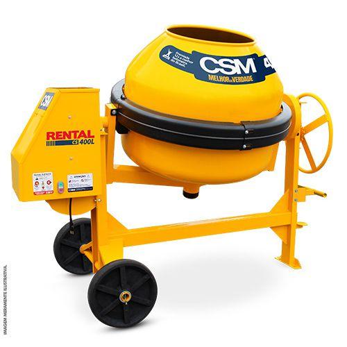Betoneira Rental CS 400lts Mono 220v CSM