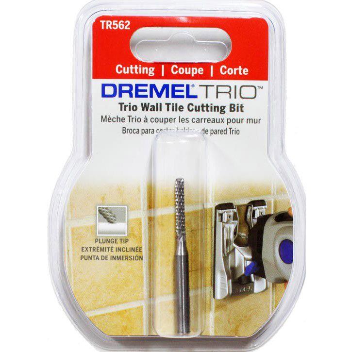 Broca Cortadora de Azulejo TR562 Trio - DREMEL