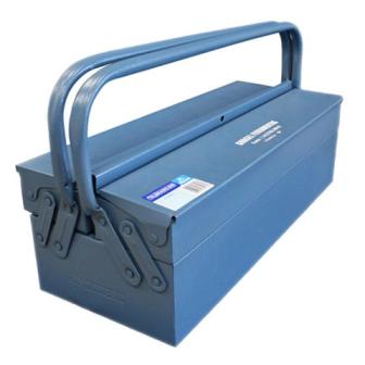 Caixa de Ferramentas Com 3 gavetas Azul 350 - Marcon